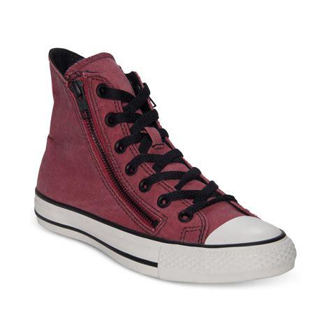 Sepatu Converse All Chili Zip High lyst converse zip hi casual sneakers in for