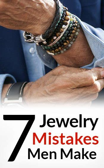 7 Great Rock Accessories For Guys by 7 Jewelry Mistakes Make How To Wear Accessories For