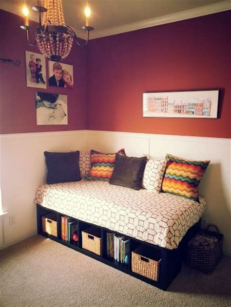 ikea hack twin bed with storage diy daybed daybeds and bed base on pinterest