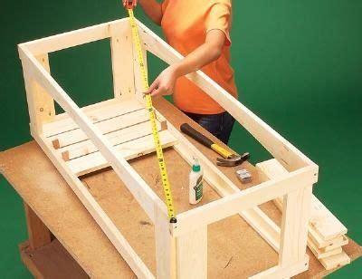 build  outdoor storage bench step  step
