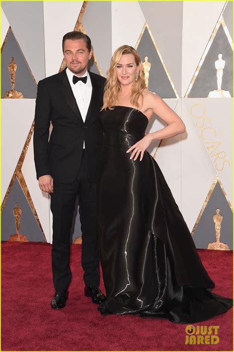 Oscars And Leo by Leonardo Dicaprio Kate Winslet Reunite At Oscars 2016