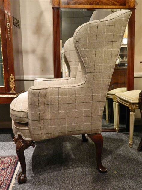 Wingback Office Chair Design Ideas Upholstered Wingback Chairs Homesfeed