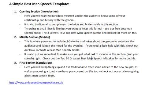 Best man speech templates nzqa