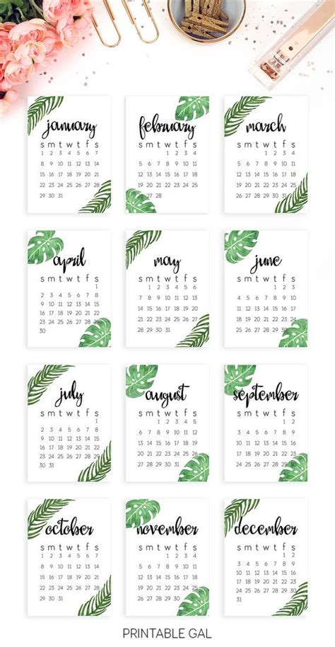 Calendã Por Semana 2017 25 Unique 2017 Calendar Printable Ideas On