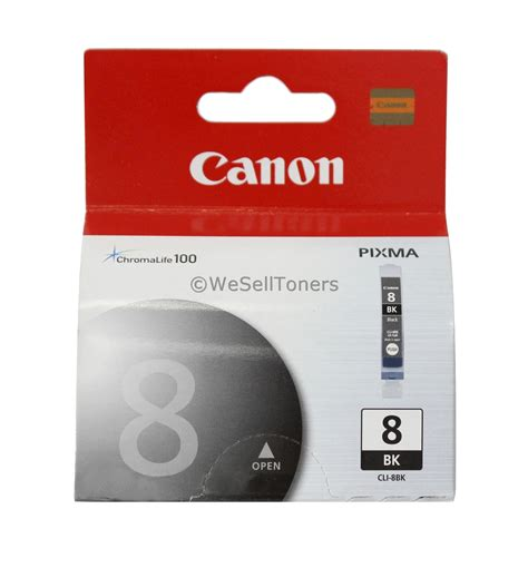 Canon Cli 8bk Ink Original 1 canon cli 8 black ink cartridge cli 8bk 0620b002 genuine new auctions buy and sell