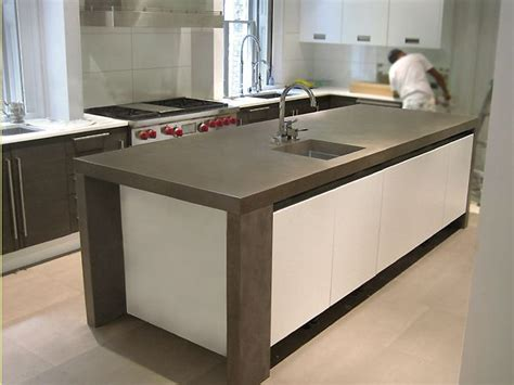 contemporary countertops 25 best images about custom concrete kitchen countertops