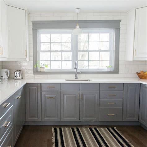 ikea backsplash a gray and white ikea kitchen transformation the