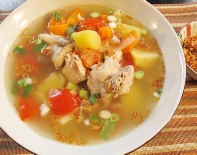 cara membuat kaldu dari sayap ayam resep sup sup ayam kung