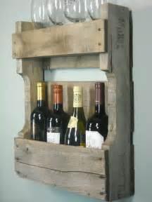 small pallet wine rack rustic wine shelf by mybrothersbarn