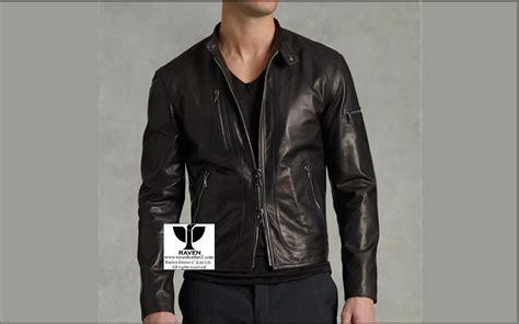 short jackets for men rz 02 men s genunine leather short length jacket raven