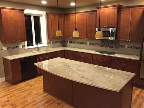 granite kitchen countertop ideas astoria granite countertop backsplash ideas
