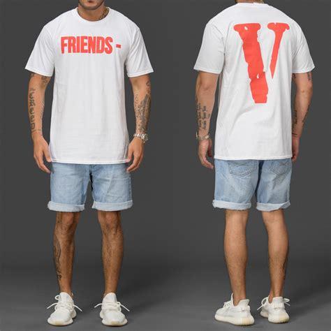 T Shirt Vlone vlone friends t shirt wehustle menswear womenswear