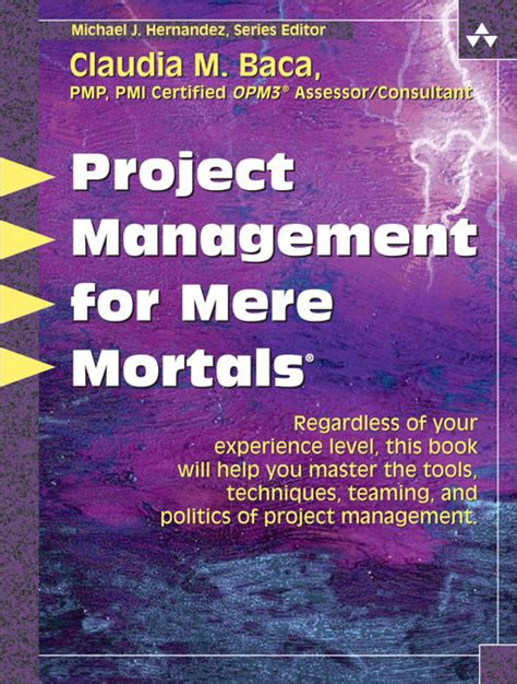for mere mortals pearson education project management for mere mortals