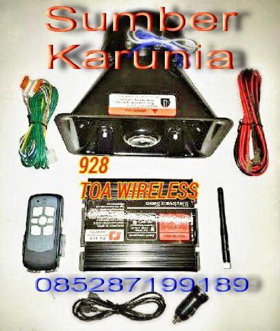 Wireless Saklar Harga jual toa polisi wireless harga murah jakarta oleh sumber karunia abadi auto ltc