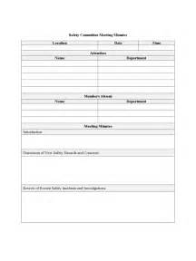 committee meeting template committee meeting minutes template 7 free templates in