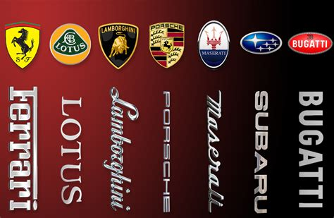 supercar logos beyond the prancing 7 supercar logos explained
