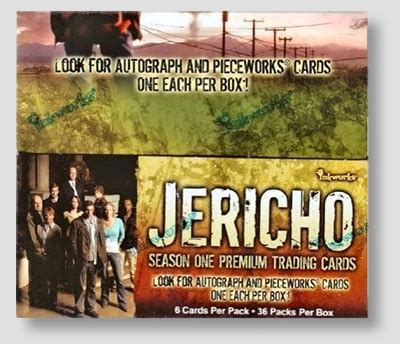 jericho season one trading cards inkworks jericho season one trading cards hobby box hill s wholesale gaming