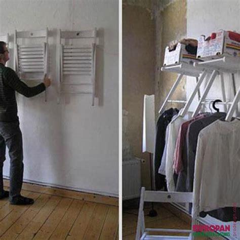 Gantungan Baju Jemuran Hanger Lipat kursi lipat untuk gantungan baju gak kebayang yah gimana bikinya begini contohnya tips and