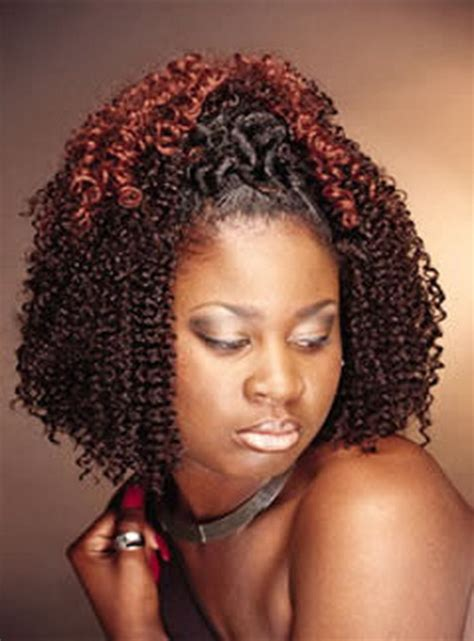 Hairstyles For Black Twist by Braids With A Twist Out Black Hairstyles