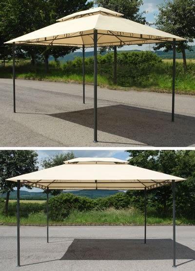 pavillon metall 3x4m wasserdicht pavillon metall 3x4m beige mit dach