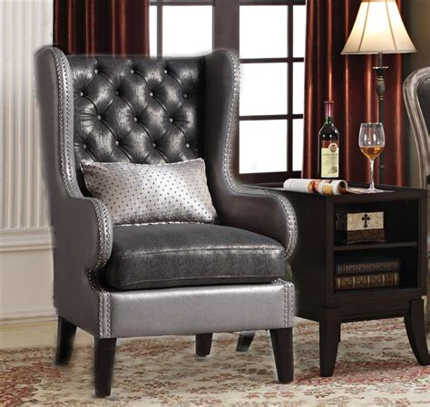 accent chair and table set chantelle 2 accent chair and table set by acme 96208 2