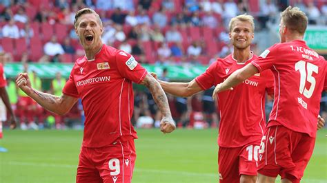 union berlin leave augsburg  deserved point