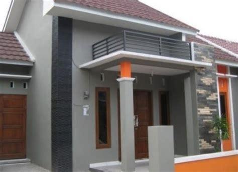 warna cat rumah bagian luar  bagus  bagikan contoh