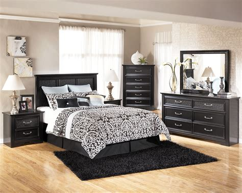 ashley signature bedroom set cavallino 5pc bedroom set by ashley la furniture center