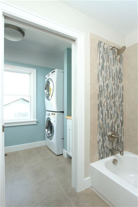 hall bathroom ideas hall bath and laundry traditional laundry room