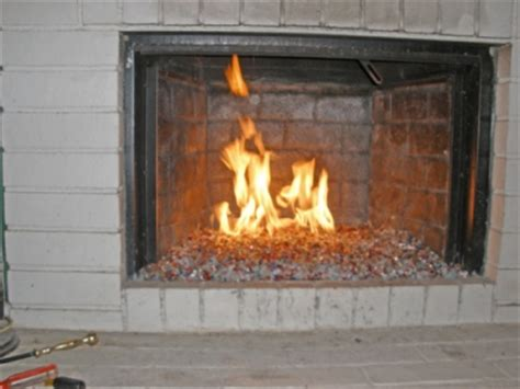 fireplace glass glass pit glass fireglass do