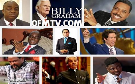 Top 10 Richest Pastors In Africa 2017 by Richest Pastors In The World Their Net Worth 2018 List
