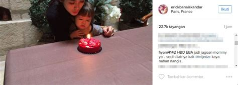 Lilin Angka Ulang Tahun Numerical Candle Lilin Hbd Per Angka Diskon rayakan ultah el ke 2 iskandar nangis tak ditemani ludwig kabar berita artikel