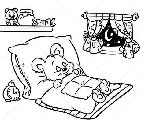 sleeping coloring page dibujos para colorear animados paginas para colorear
