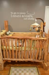 Rustic built 18 lovely baby cribs for your little one