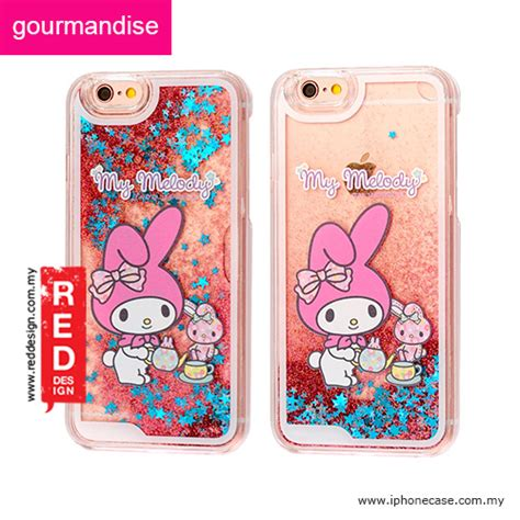 Iphone6 6s My Melody apple iphone 6s 4 7 gourmandise glitter flow hello