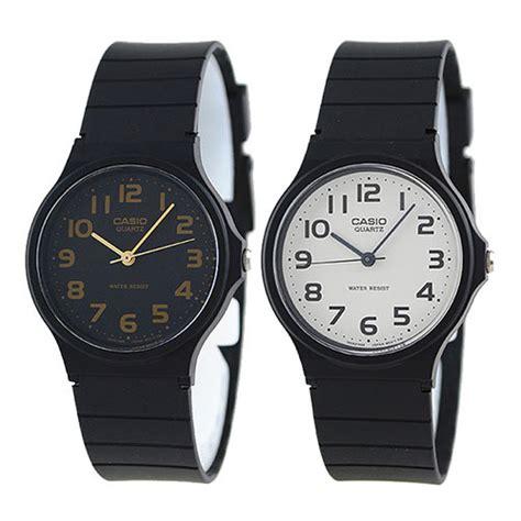 Casio Jam Tangan Mq 24 1b3ldf Hitam casio sporty mq 24 1b3ull jam tangan pria resin hitam lazada indonesia