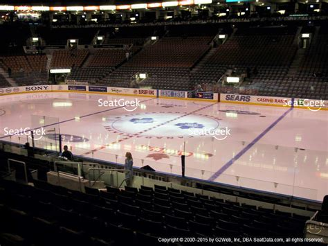 Section 117 Air Canada Centre by Toronto Maple Leafs Seating Chart Interactive Map Seatgeek