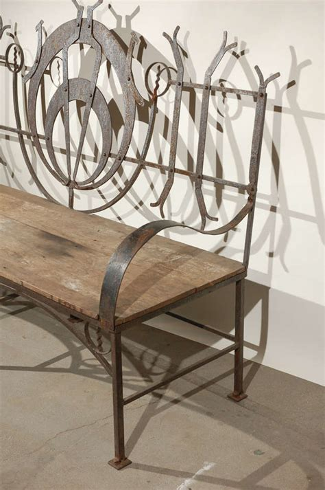 wrought iron garden benches sale wrought iron garden bench for sale at 1stdibs