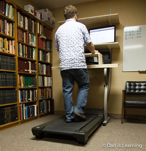 Walking Computer Desk Treadmill Desk Or How Computer Nerds Live And Prosper Is Learning