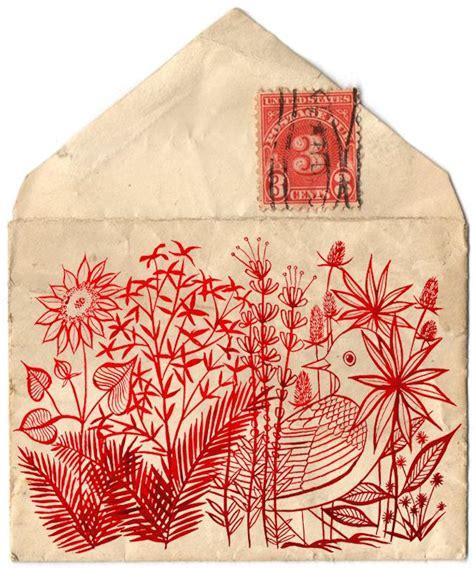 where does st go on envelope geninne hello dearest sketchbook pinterest envelopes