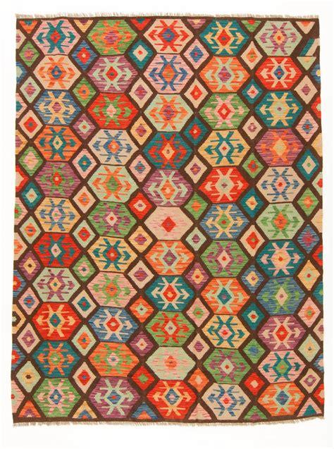 teppiche kelim kelim teppich afghan 245 x 188 cm trendcarpet de