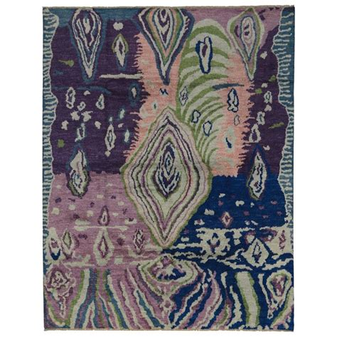trippy rugs for sale contemporary moroccan style rug with abstract psychedelic design at 1stdibs