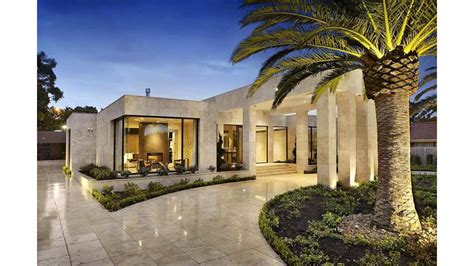 design a mansion imposing luxurious modern mansion in melbourne wearing