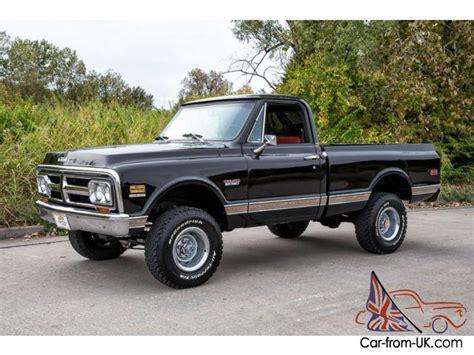 gmc truck beds for sale 1972 gmc sierra 1500 4x4 short bed california truck