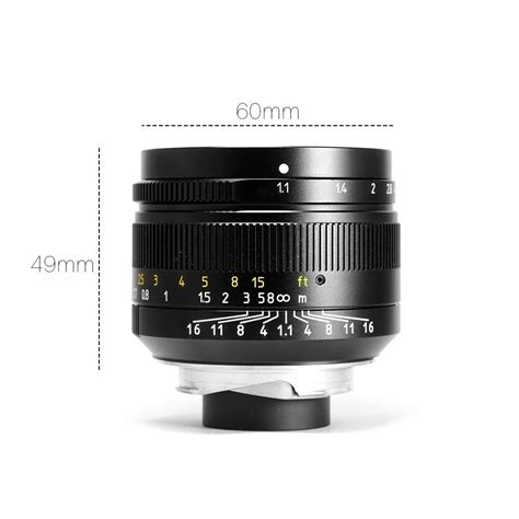 cheap leica new cheap 7artisans 50mm f 1 1 lens for leica m