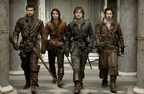 Three Musketeer footage about filming the musketeers capaldi