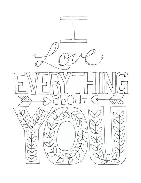 love coloring page for adults free printable coloring sheets with sweet phrases have