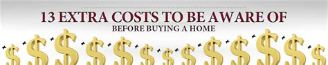 extra costs in buying a house 13 extra costs to be aware of before buying a home