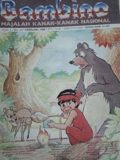 Majalah Selera Januari 1988 komik klasik malaysia majalah quot bambino quot era 80an