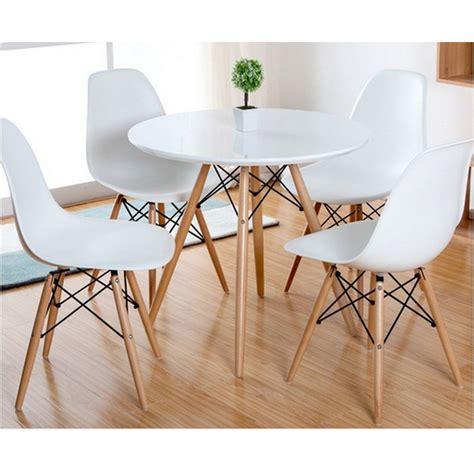 mesa y sillas comedor mesa comedor redonda modelo vintage
